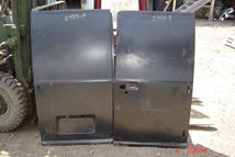 Pictured is a pair of rear cargo doors, non window style, for a 75 - 91 Ford Econoline Van.