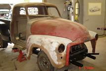 Southern Truck is restoring this 1950 GMC pickup truck.  Making this truck better than when it was new, we are installing many modern updates to make it look like an authentic 1950's pick up with the modern day updates to make it handle and feel like your driving todays trucks.