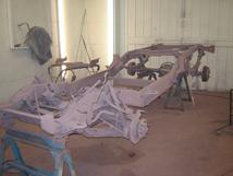 Southern-Truck restores Chevrolet, GM, Chevy, GMC frame.