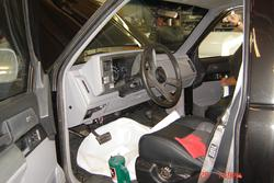 Southern-Truck restores GMC, Chevrolet, GM, Chevy truck interior.