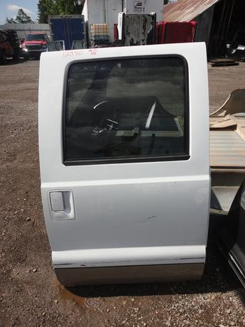 08-16 Ford Superduty Right Rear Crew Cab Door. Reference inventory number #12950 when inquiring