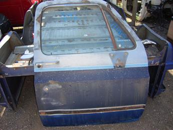 1973 1974 1975 1976 1977 1978 1979 1980 1981 1982 1983 1984 1985 1986 1987 Chevrolet GMC power door.  Paint is peeling, dented by door lock.  Reference inventory #11192 when inquiring.