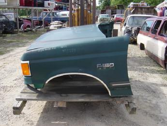 1987 1988 1989 1990 1991 Ford F150 Oem Front Clip Embly Right Fender Has A