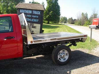 New Scott Lite Aluminum Flatbed With Wood Floor Comes Bulkhead And Rear Skirting Lights Available In Various Sizes